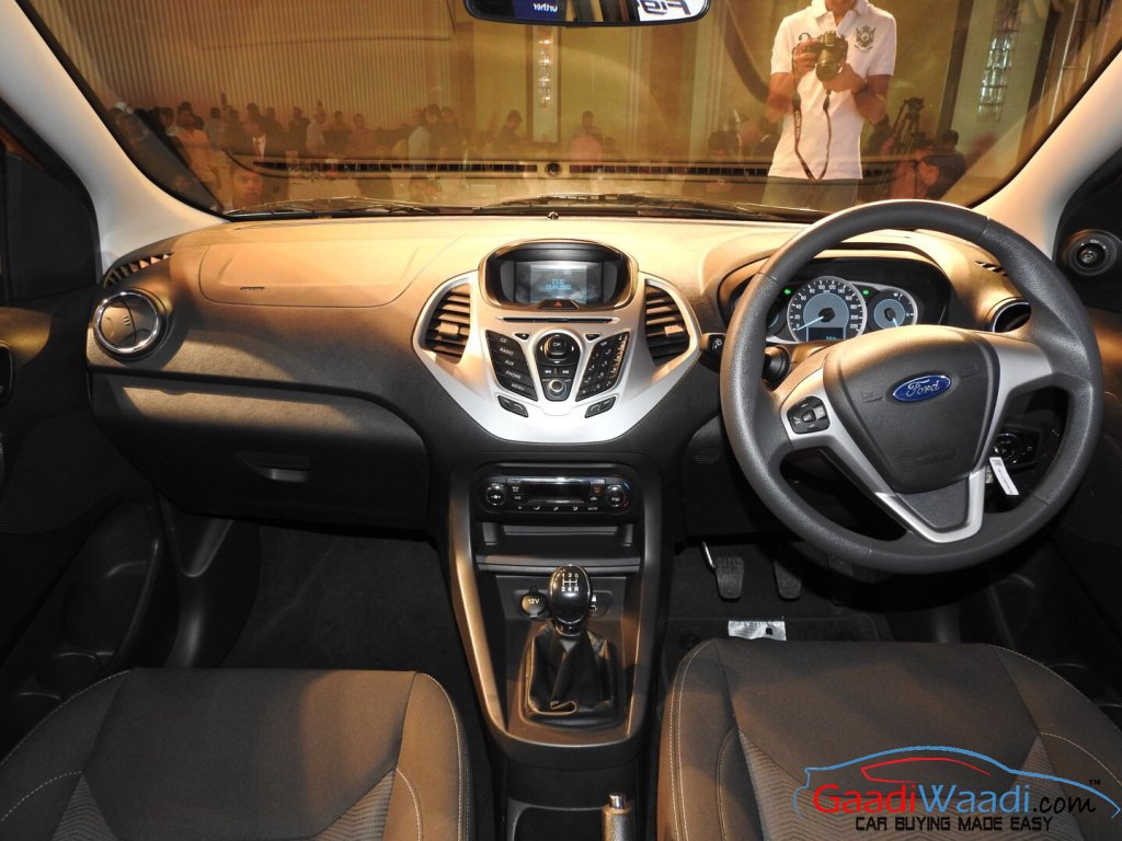 2015 ford figo hatchback launched in india at rs 4 3 lakhs for Interiores 2016