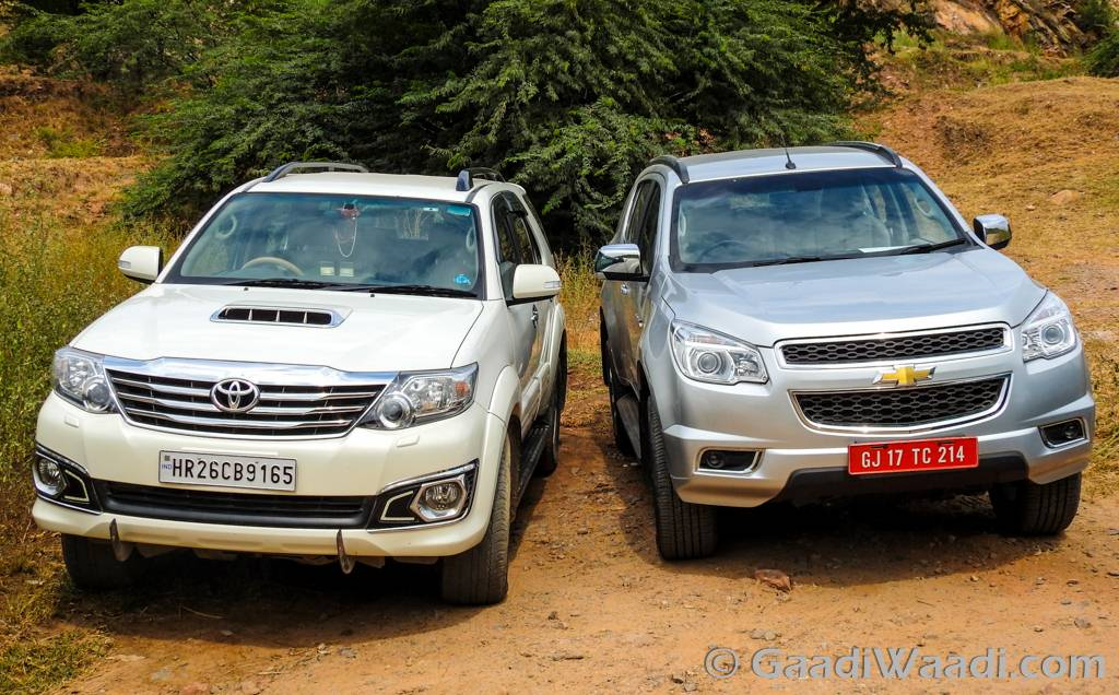 2016 Chevrolet TrailBlazer Vs Toyota Fortuner
