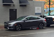2016 Honda Civic front