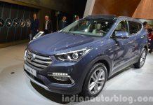 2016-Hyundai-Santa-Fe-front-three-quarter