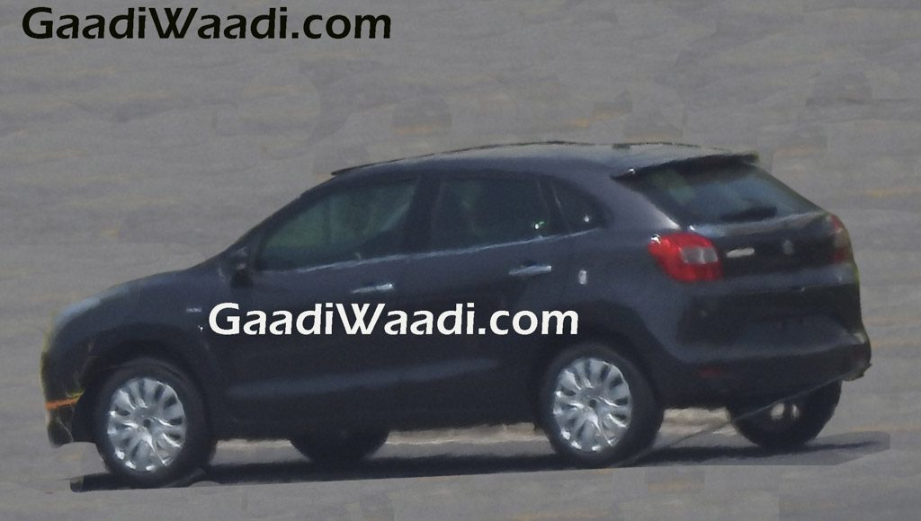 2016 Suzuki Baleno in black color (1)