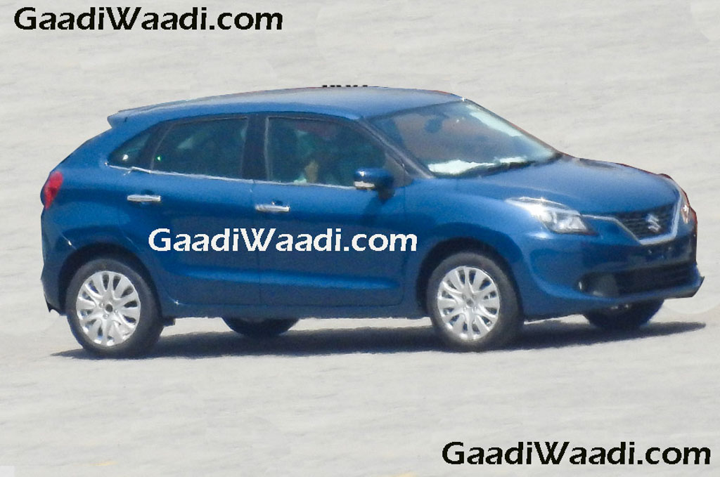 2016 Suzuki Baleno in black color (2)