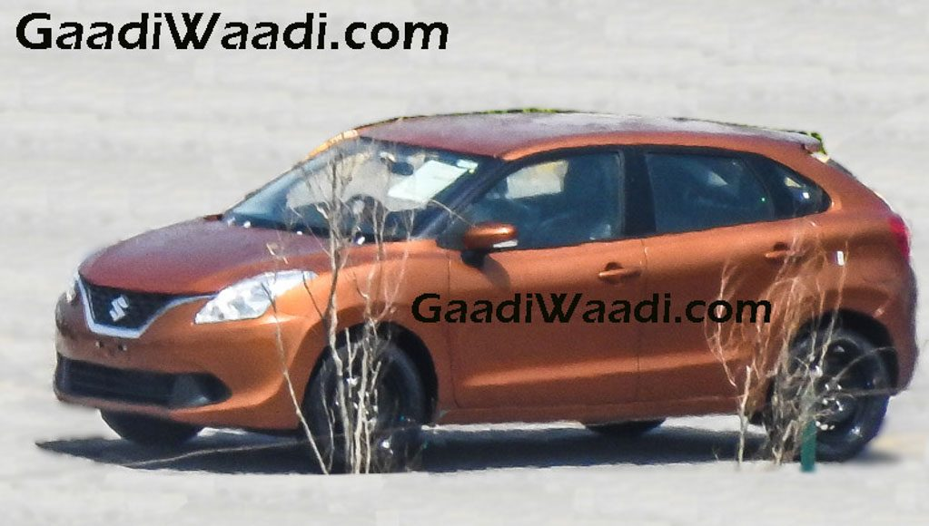 2016 Suzuki Baleno in sunlight copper