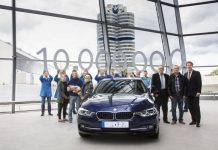 3 Series Sedan BMW Welt 10 Million units