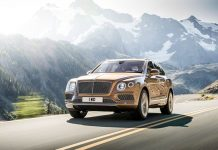 Bentley Bentayga launched frankfurt india