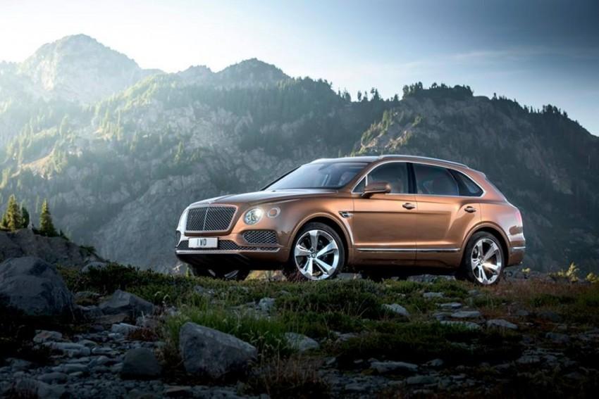 Bentley Bentayga launched frankfurt q7