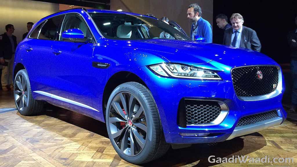 All New Jaguar F Pace Revealed At The Frankfurt Motor Show