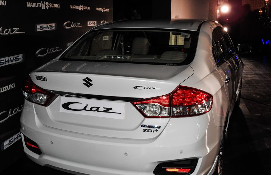 Maruti Ciaz Hybrid SHVS launched-2