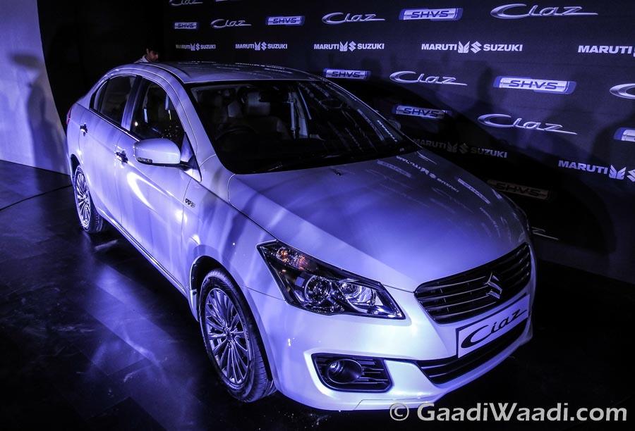Maruti Ciaz Hybrid SHVS launched-4