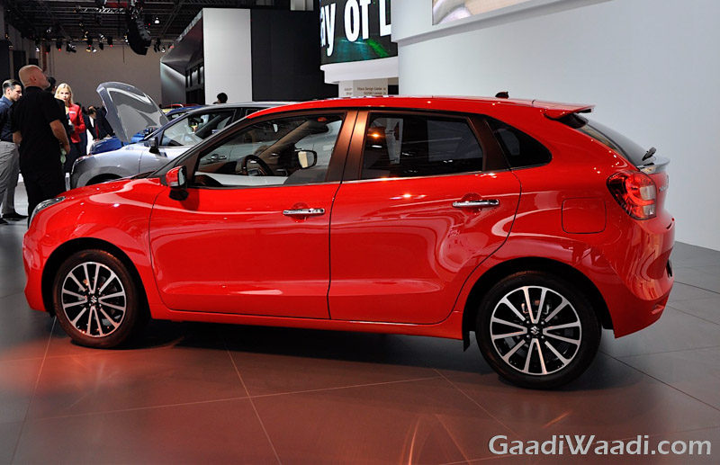 Maruti Suzuki Baleno 2016 india launch red-2