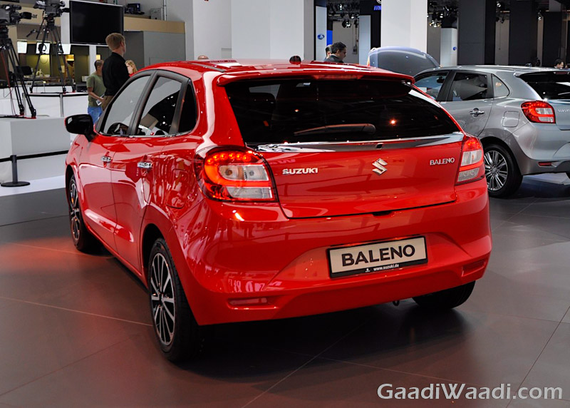 Maruti Suzuki Baleno 2016 india launch red-3