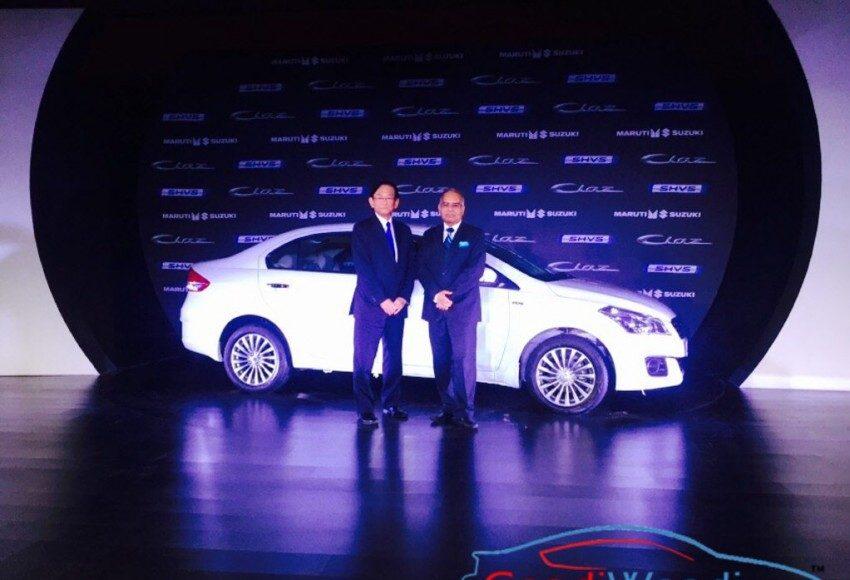 Maruti Suzuki Ciaz Hybrid SHVS India Launch