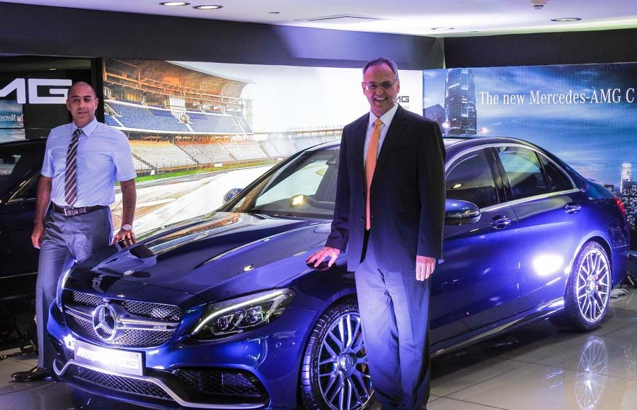 Mercedes Benz AMG C 63 Launched in India-1