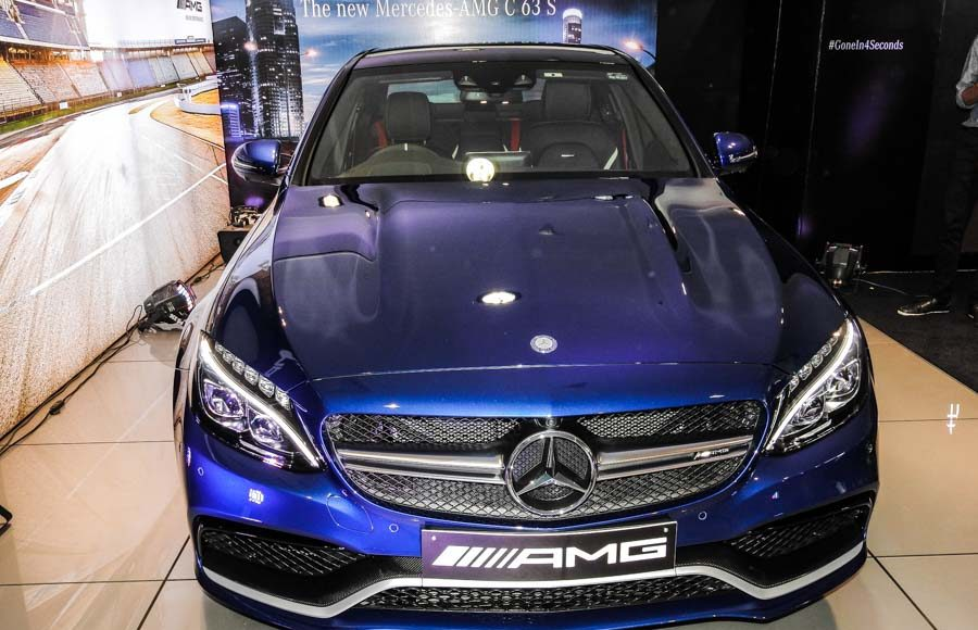 Mercedes Benz AMG C 63 Launched in India-10