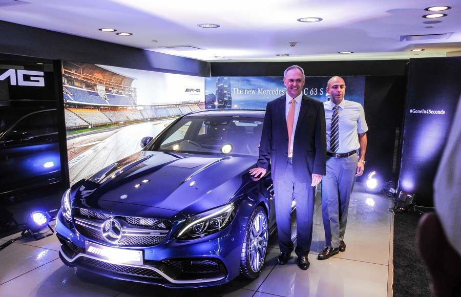 Mercedes Benz AMG C 63 Launched in India-2