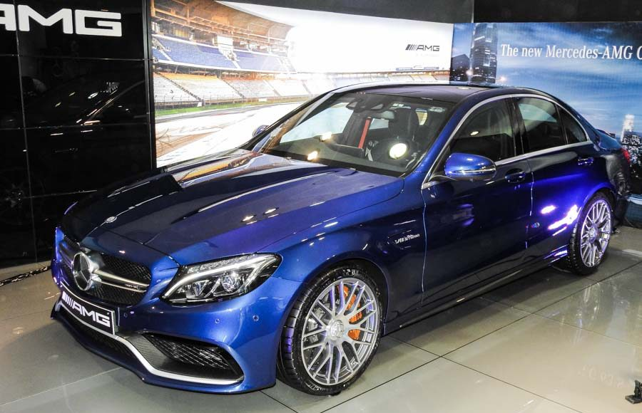 Mercedes Benz AMG C 63 Launched in India-8