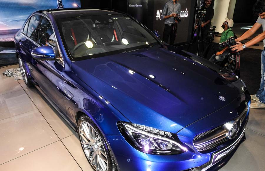 Mercedes Benz AMG C 63 Launched in India-9