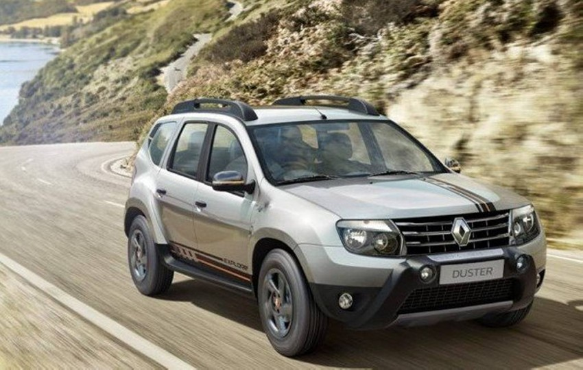 renault duster explore limited edition launched in india at rs lakhs. Black Bedroom Furniture Sets. Home Design Ideas