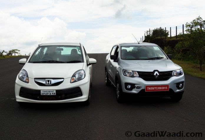 Renault Kwid Vs Honda Brio-5