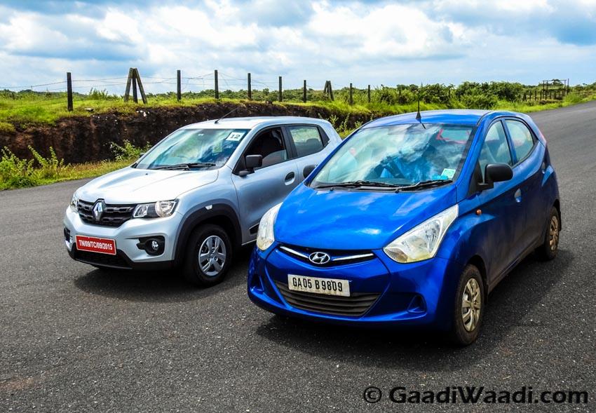 Renault Kwid vs Hyundai Eon-6