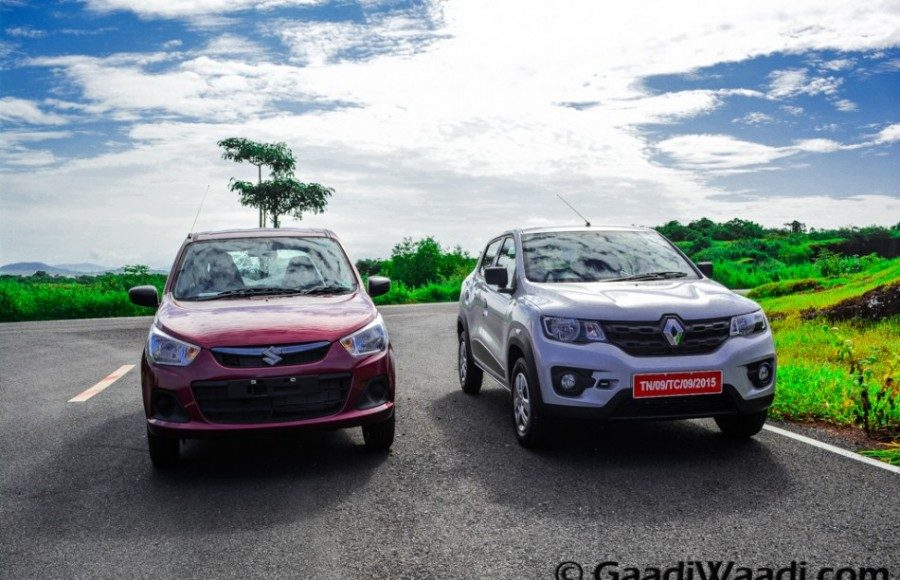 Renault Kwid vs Maruti Alto k10-1