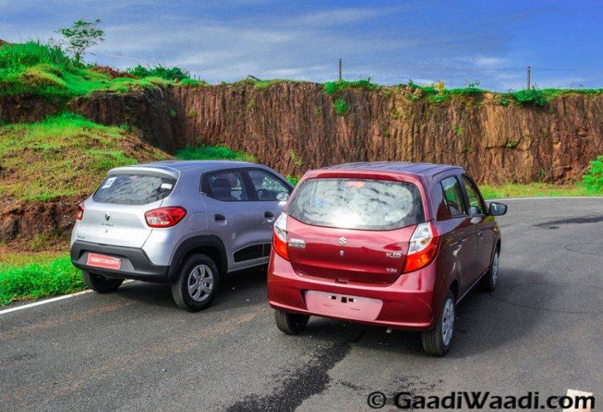 Renault Kwid vs Maruti Alto k10-11