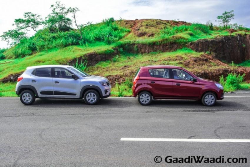 Renault Kwid vs Maruti Alto k10-13