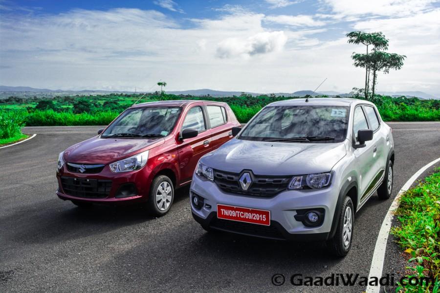 Renault Kwid vs Maruti Alto k10-2