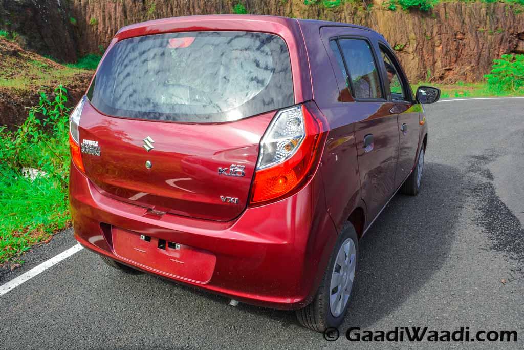 Renault Kwid vs Maruti Alto k10-20