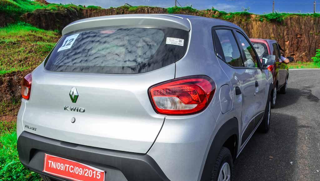 Renault Kwid vs Maruti Alto k10-21