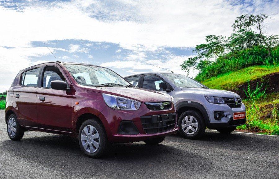 Renault Kwid vs Maruti Alto k10-5