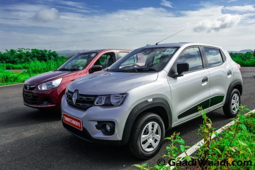 Renault Kwid vs Maruti Alto k10-7