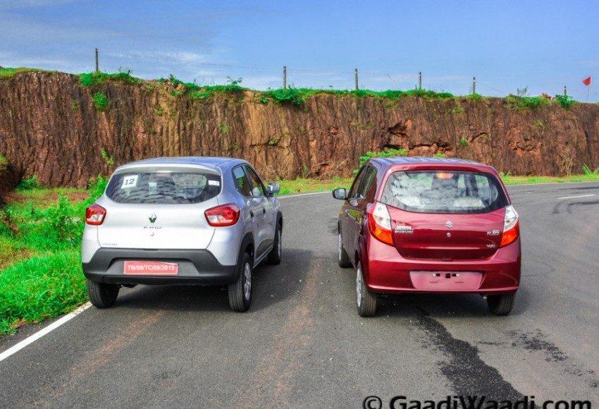 Renault Kwid vs Maruti Alto k10-8