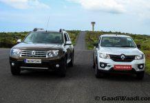 Renault duster vs KWid