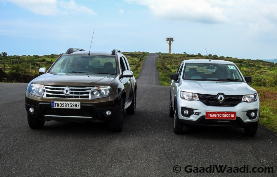 Renault duster vs KWid