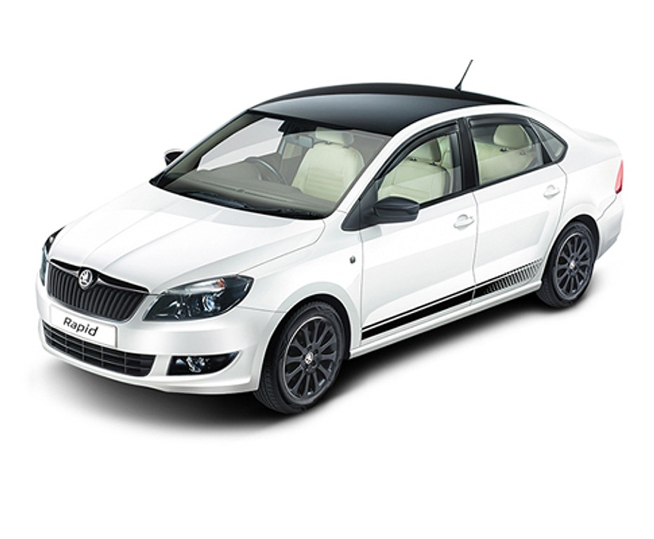 2015 skoda rapid anniversary edition launched in india celebrates four years. Black Bedroom Furniture Sets. Home Design Ideas