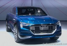Volkswagen IAA (Frankfurt Motor Show 2015 - Audi e-tron quattro front
