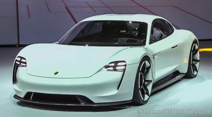 Porsche S First All Electric Production Car Named As Taycan