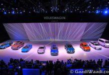 Volkswagen group night Frankfurt motor show 2015