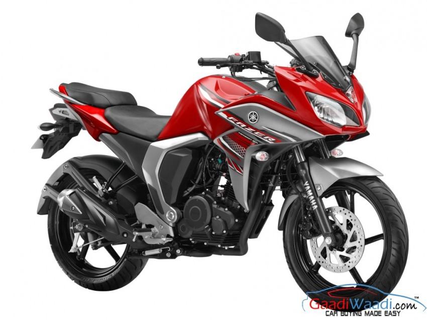 Yamaha FAZER FI- Volcano Red