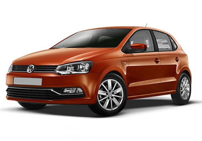 volkswagen polo copper orange