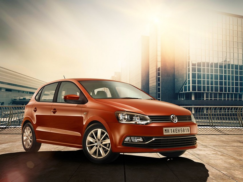 volkswagen polo india exterior