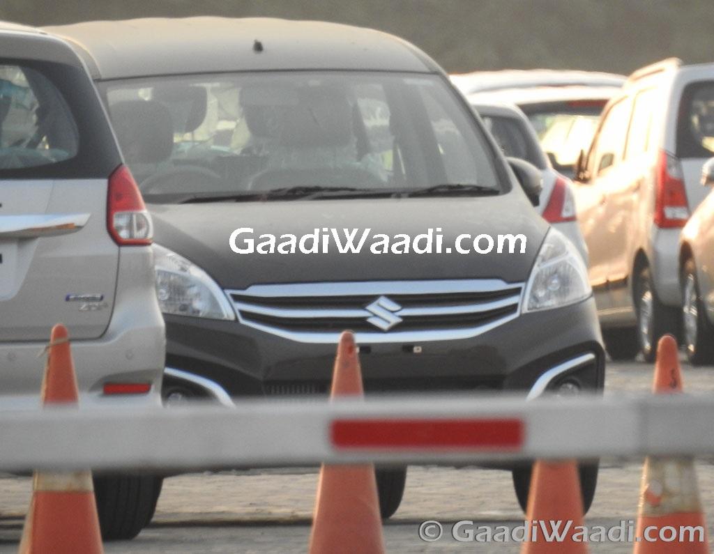 2016 Maruti Suzuki Ertiga z+ spotted-5