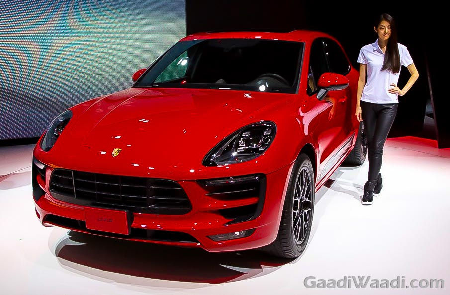 2016 Porsche Macan GTS Unveiled in TMS