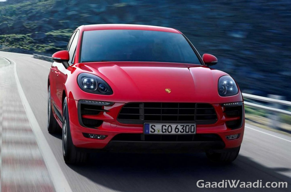 2016 Porsche Macan GTS front view