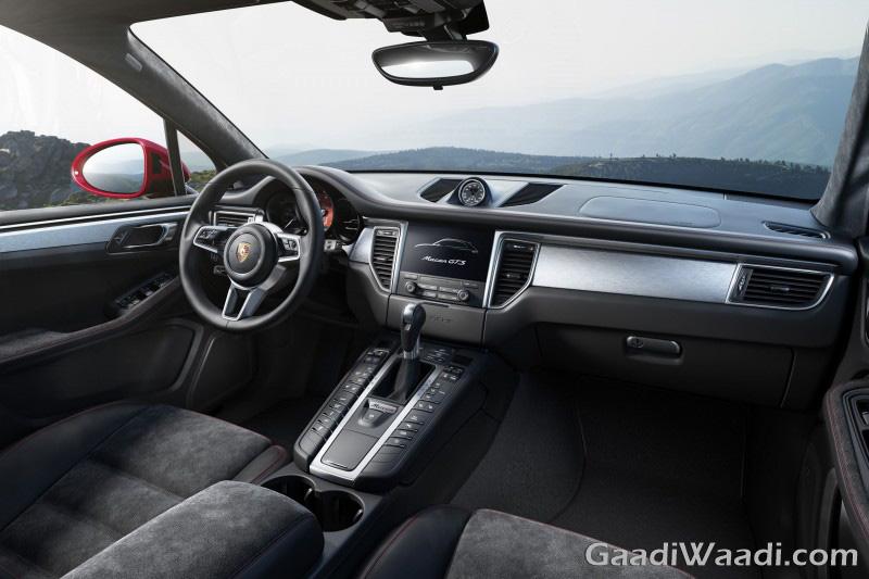 2016 Porsche Macan GTS interior