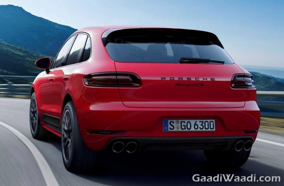 2016 Porsche Macan GTS rear
