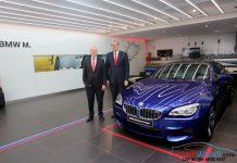 BMW M Studio Mumbai India Launch M6 GranCoupe