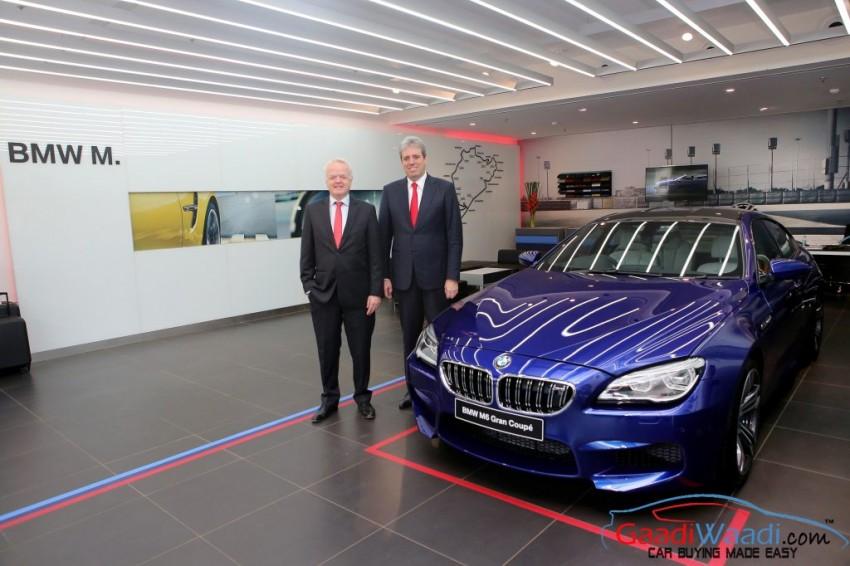 BMW M Studio Mumbai India Launch M6 GranCoupe