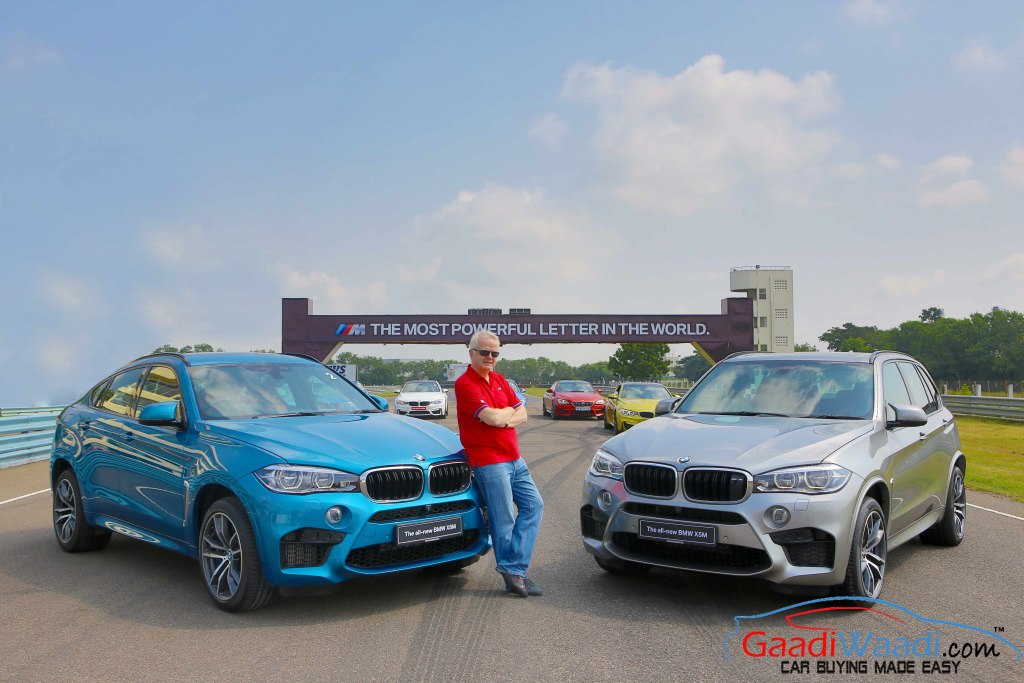 BMW X6M India Launch M Studio